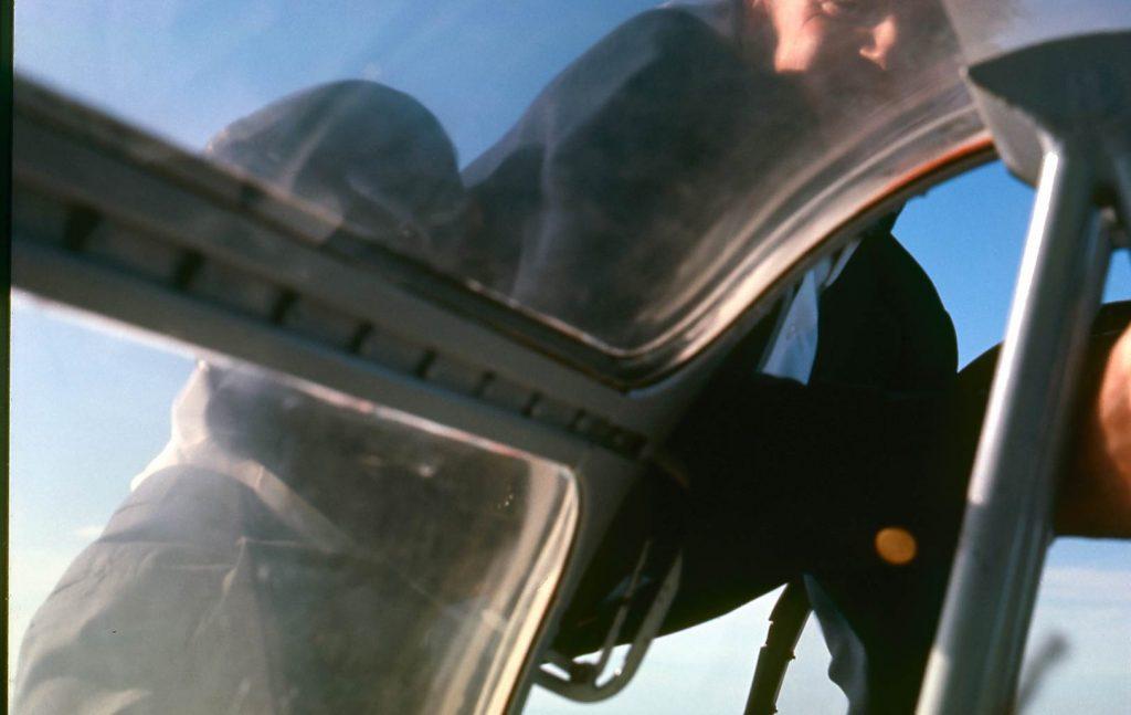 Oddvar Rygg, Flystunt, stunt, gå på vingen